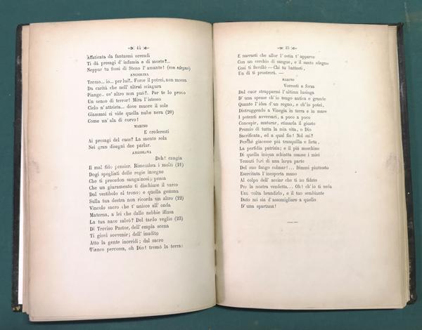 <strong>Marino Faliero Doge in Venezia.</strong> Tragedia rappresentata la prima volta in Siena al R. Teatro Grande nella sera del 27 marzo 1863.