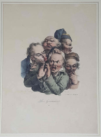 <strong>Les grimaces. 4.</strong>