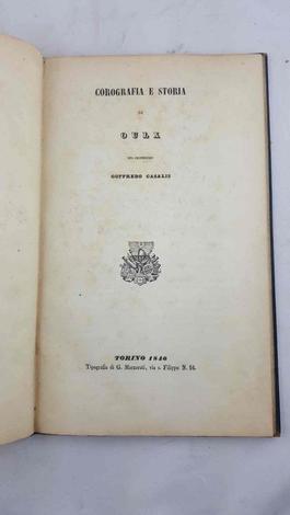 Corografia e storia di Oulx.