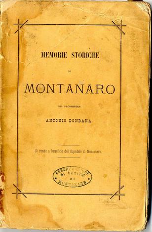 <strong>Memorie storiche di Montanaro</strong>