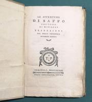 <strong>Le avventure di Saffo poetessa di Mitilene.</strong> Traduzione dal Greco originale nuovamente scoperto.