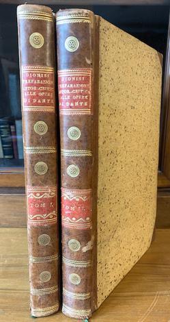 <strong>Preparazione istorica e critica alla nuova edizione di Dante Allighieri .</strong>