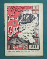 <strong>Almanacco Illustrato del giornale Il Secolo. 1888.</strong>
