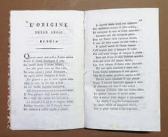 <strong>Il Sogno. L'origine delle leggi, e la strada della gloria. Capitoli tre del Cittadino V. Monti.</strong>