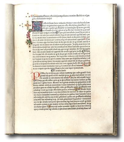 Opus astrolabii Ed: Petrus Bonus Advogarius