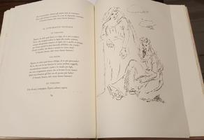 <strong>I CARMI DI CATULLO. Scelti e nuovamente tradotti in versi da Vincenzo Errante e decorati con litografie da</strong><br /><strong>Filippo De Pisis.</strong>