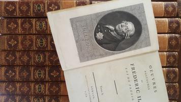 Oeuvres posthumes de Frèderic II roi de Prusse