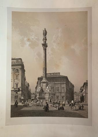 <strong>Roma. Colonna dell'Immacolata.</strong>