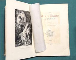 <strong>Les moeurs secrètes du XVIII siècle.</strong>
