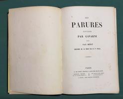 <strong>Les Parures. Fantaisie par Gavarni. </strong>Texte par Méry.<strong> Histoire de la mode </strong>par le Cte Foelix.