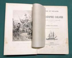 <strong>Vie et Voyages de Christophe Colomb d'après des documents authentiques tirés d'Espagne et d'Italie.</strong> Illustrations de M. Rouargue.
