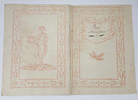 Poesie Meneghine. Manoscritto milanese, prima metà XIX secolo,
