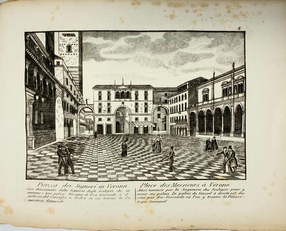 <strong>Raccolta di Vedute di Monumenti Antichi della città di Verona,</strong>