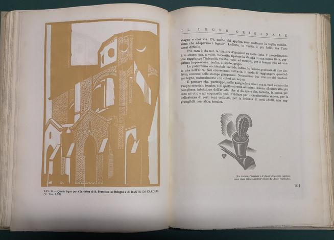 <strong>TECNICA DELLA XILOGRAFIA.</strong> Illustrazioni e tavole originali in nero e a colori.