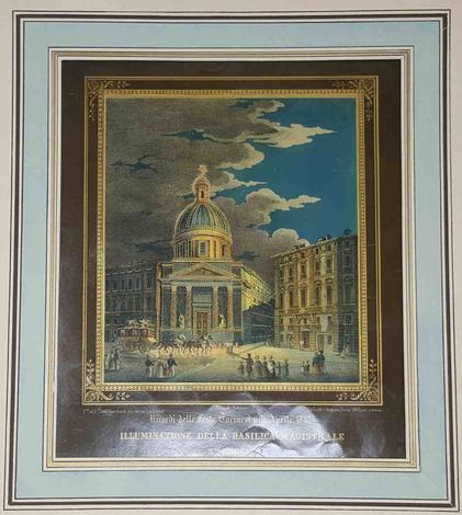 <strong>Illuminazione della basilica magistrale S.ta Croce.</strong>