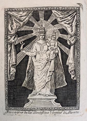 Istoria della prodigiosa immagine della Santissima Vergine Maria di Moretta