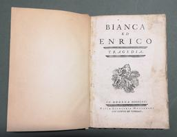 <strong>Bianca ed Enrico. Tragedia.</strong>