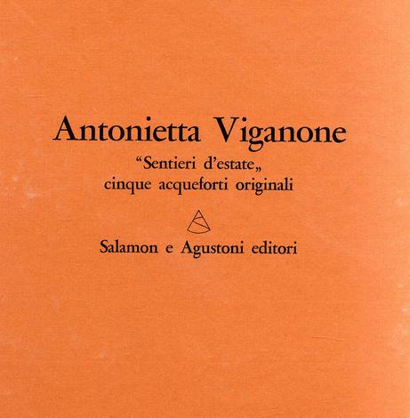 <strong>Sentieri d'estate. 5 Acqueforti originali.</strong>