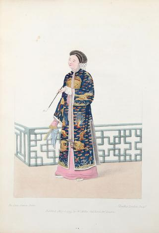 <strong>The costume of China, illustrated by sixty engravings: with explanations in English and French.</strong>