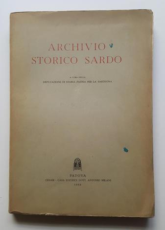 <strong>Archivio Storico Sardo. 1958.</strong>