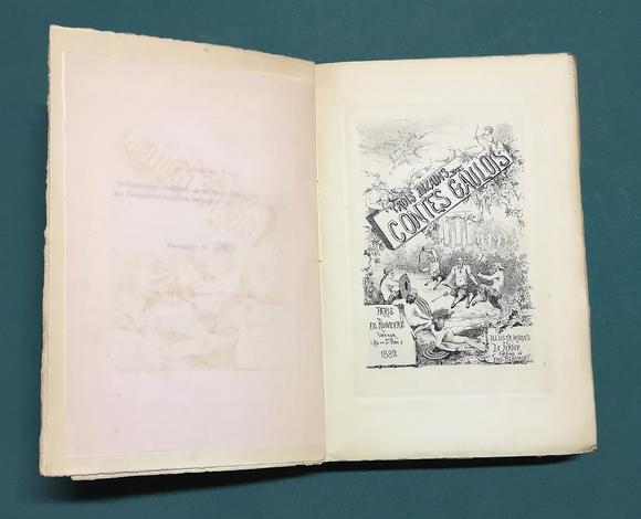 <strong>Trois Dizains de Contes Gaulois. Illustrations de la Natur.</strong>
