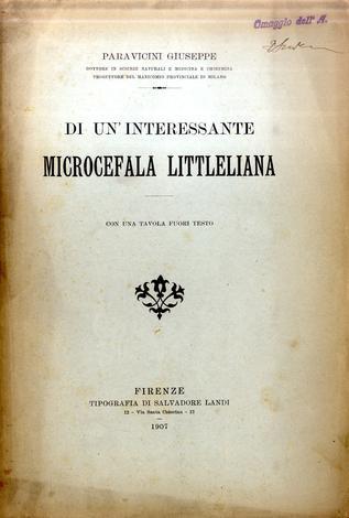 Di un' interessante microcefala littleliana