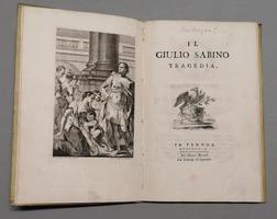 <strong>Il Giulio Sabino. Tragedia.</strong>