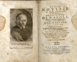 Delle Notizie del Bello, dell'Antico, e del Curioso della città di Napoli...GIORNATA PRIMA.