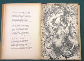 <strong>Le stanze, La Favola di Orfeo, dalle Rime (Illustrato da Aligi Sassu).</strong>