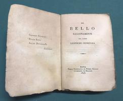 <strong>Del Bello. Ragionamenti.</strong>