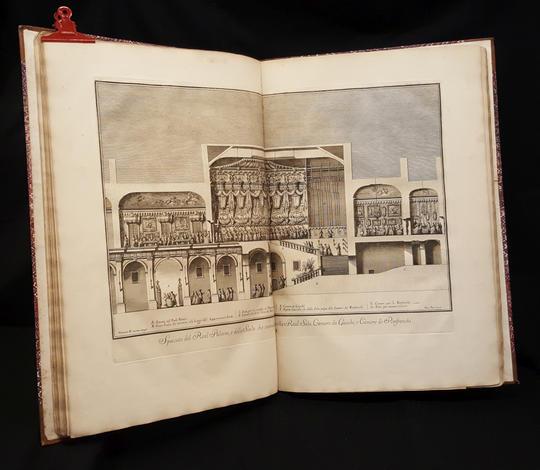 <strong>Narrazione delle solenni reali feste fatte celebrare in Napoli da Sua Maesta il re delle Due Sicilie Carlo Infante di Spagna...per la nascita del suo primogenito Filippo Real Principe delle Due Sicilie.</strong>