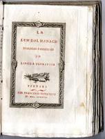<strong>La Lum dal Managh dialoghi famigliari in lingua ferrarese.</strong>
