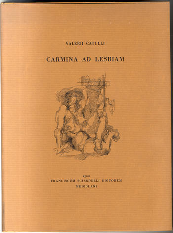 <strong>Carmina ad Lesbiam.</strong>