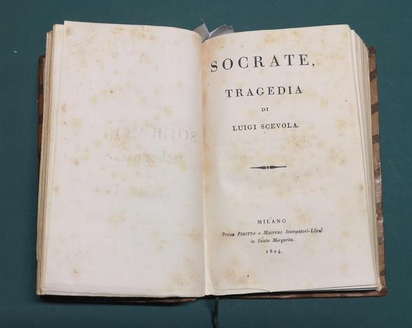 <strong>Miscellanea di 6 Tragedie di autori italiani del XVIII-XIX sec.</strong>