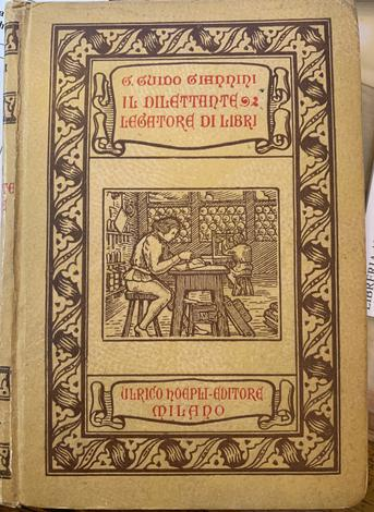 <strong>Il dilettante legatore di libri.</strong>