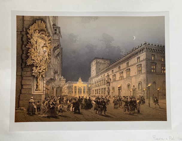 <strong>Palazzo Venezia illuminato.</strong>