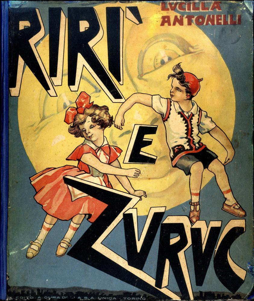 <strong>Rirì e Zuruc due bimbi nella luna.</strong>