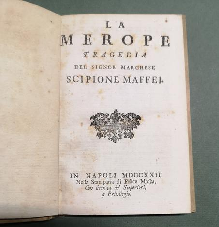 <strong>La Merope. Tragedia.</strong>
