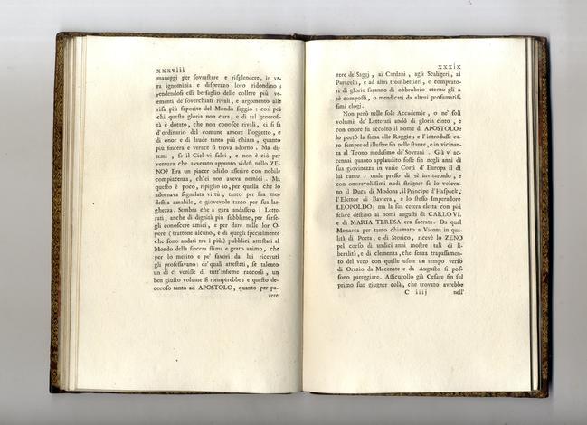<strong>Orazione in morte di Apostolo Zeno poeta e storico cesareo.</strong>