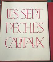 <strong>Les Sept Péches Capitaux. Huit Lithographies originales de LEONOR FINI, texte inédit de Jacques Perret.</strong>