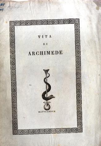 Vita di Archimede