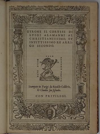 <strong>Gyrone il Cortese.</strong>