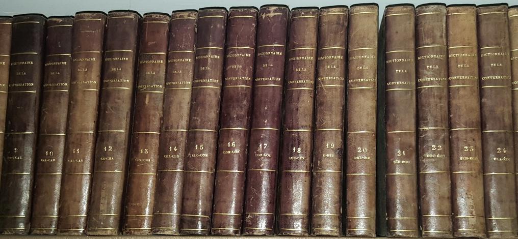 <strong>Dictionnaire de la conversation et de la lecture</strong>
