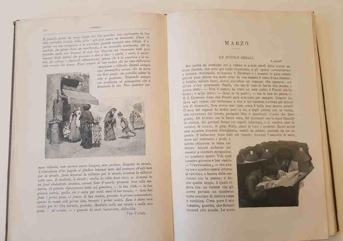 Cuore. Libro per ragazzi. Nuova edizione popolare illustrata con disegni di A. Ferraguti, E. Nardi e A.G. Sartorio.