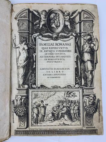 <strong>Familiae Romanae quae reperiuntur in antiquis numismatibus ab urbe condita ad tempora divi Augusti.</strong>
