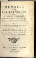 <strong>Mémoire sur les Iles Ponces et catalogue raisonné des produits de l'Etna;</strong>