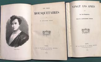 <strong>Les Trois Mousquetaires.</strong> - (Con:) <strong>Vingt ans après. Suite des Trois Mousquetaires.</strong>