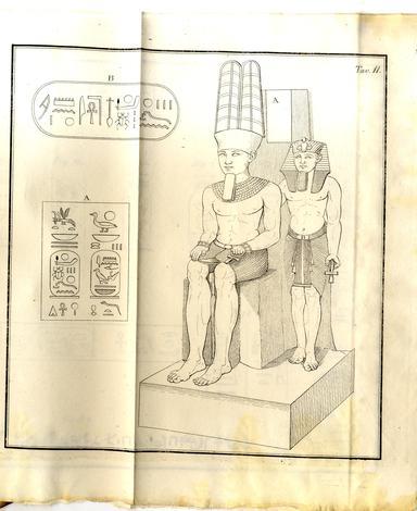 Descizione dei monumenti egizi del Regio Museo contenenti leggende reali.