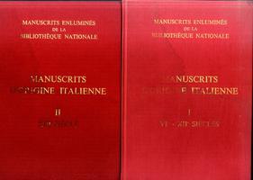 <strong>Manuscrits Enluminés d'origine italienne. I: VI-XII siècles. II: XIII siècle.</strong>