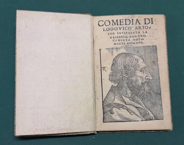 <strong>Comedia...intitulata la Cassaria.</strong> Con l'argumento novamente agionto. (Segue, del medesimo:) <strong>Le Satire...</strong>